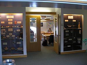 Anthropology Lab and Exhibit Cases