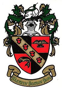 Beta Beta Beta coat of arms