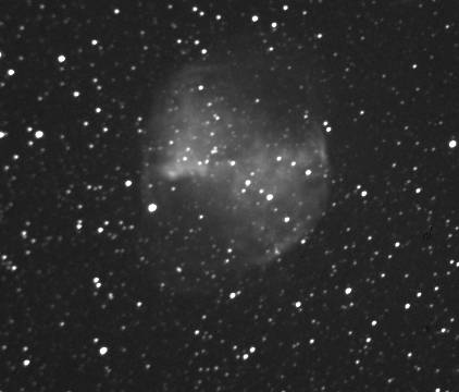 Dumbbell Nebula Crop