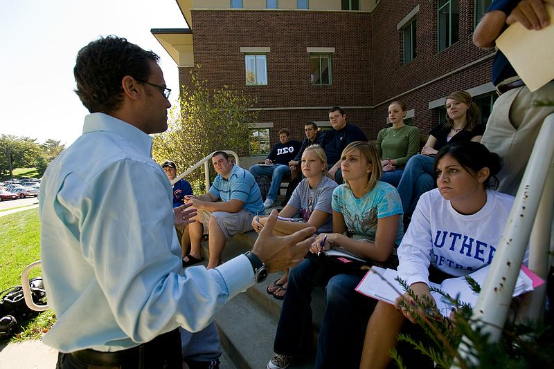 Generate a tax savings and benefit Luther students through a gift of appreciated property.