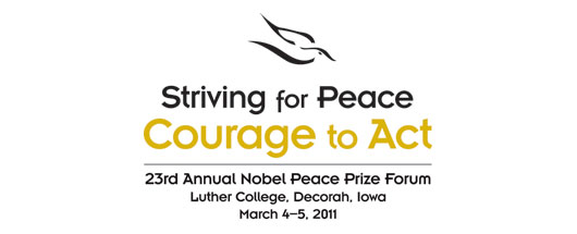 Nobel Peace Prize Forum Logo