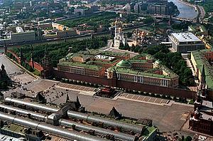 "Moscow, Kremlin. Bird's Eye View from the East with Read Square (by ITAR-TASS, from www.kremlin.ru, via Wikimedia Commons)<a href=""/reason/images/320115_orig.jpg"" title=""High res"">∝</a>"