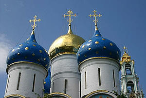 The Trinity Lavra of St. Sergius (Russian: Тро́ице-Се́ргиева Ла́вра) in Sergiyev Posad (from www.pics4learning.com)