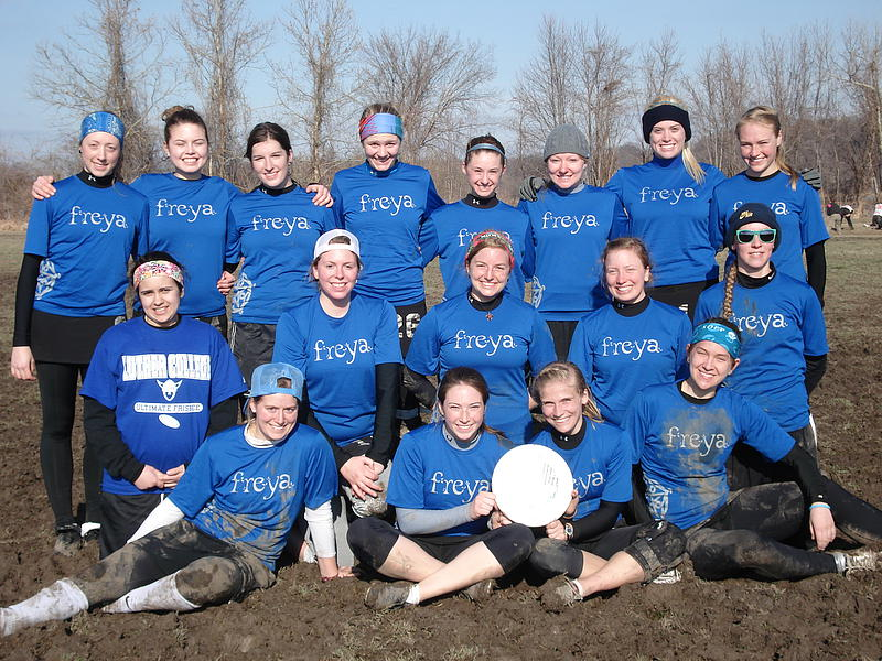 Luther College Women's Ultimate Team-