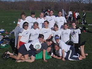 Luther Women's Ultimate Team Spring 2006