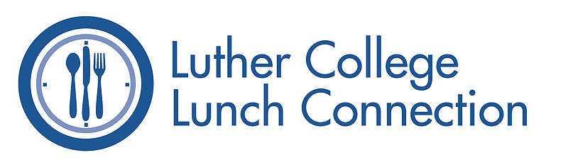 Luther College Lunch Connection event logo, Minneapolis.