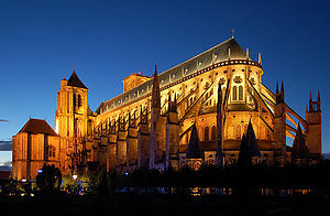 "Cathedrale Saint Etienne in Bourges, by Wladyslaw Sojka, from Wikimedia Commons<a href=""/reason/images/338119_orig.jpg"" title=""High res"">∝</a>"