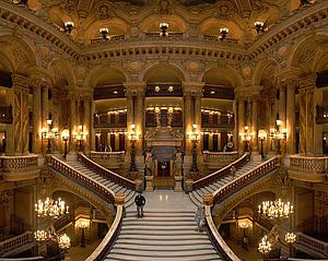 "The Large Staircase of The Garnier Opera, by Benh Lieu Song, from Wikimedia Commons<a href=""/reason/images/338124_orig.jpg"" title=""High res"">∝</a>"