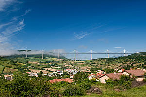 "Viaduct de Millau, by Rickyblack, from Wikimedia COmmons<a href=""/reason/images/338192_orig.jpg"" title=""High res"">∝</a>"