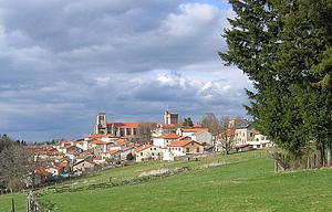 "La Chaise Dieu, Auvergne, by Alexander Hoernigk, from Wikimedia Commons<a href=""/reason/images/338214_orig.jpg"" title=""High res"">∝</a>"