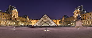 "Louvre Museum, Paris, by Benh Lieu Song, from Wikimedia Commons<a href=""/reason/images/338216_orig.jpg"" title=""High res"">∝</a>"