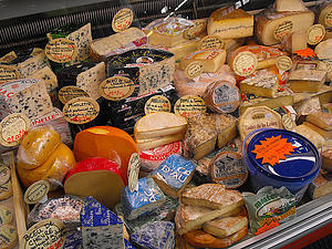 "French Cheeses, by eVidaSana.com, from Wikimedia Commons<a href=""/reason/images/338219_orig.jpg"" title=""High res"">∝</a>"