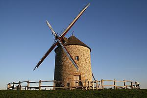 "Windmill of Moidrey in Normandy, by Benh Lieu Song, from Wikimedia Commons<a href=""/reason/images/338223_orig.jpg"" title=""High res"">∝</a>"