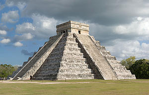 "El Castillo at Chichen Itza, Mexico, byEric Baetscher, from Wikimedia Commons<a href=""/reason/images/338497_orig.jpg"" title=""High res"">∝</a>"