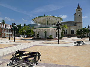 "Parque Central de Puerto Plata, Dominican Republic, by Mfa88, from Wikimedia Commons<a href=""/reason/images/338511_orig.jpg"" title=""High res"">∝</a>"
