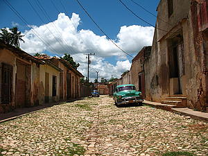 "A street in Trinidad, Cuba; by José Porras, from Wikimedia Commons<a href=""/reason/images/338599_orig.jpg"" title=""High res"">∝</a>"