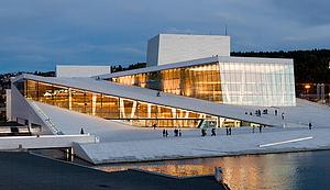 "The new Opera House in Oslo, by Rafał Konieczny, from Wikimedia COmmons<a href=""/reason/images/338872_orig.jpg"" title=""High res"">∝</a>"