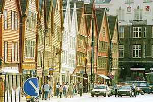 "Bergen, the Hansa quarter, a UNESCO World Heritage site; by Sören Steding<a href=""/reason/images/338931_orig.jpg"" title=""High res"">∝</a>"