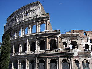 "Colosseum in Rome; by Wknight94, from Wikimedia Commons<a href=""/reason/images/339788_orig.jpg"" title=""High res"">∝</a>"