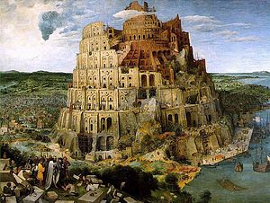 "Tower of Babel by Pieter Bruegel the Elder 1563 - now in Vienna Kunsthistorisches Museum, from Wikimedia Commons<a href=""/reason/images/340269_orig.jpg"" title=""High res"">∝</a>"