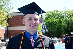 "Robert Morris: May 2009; Robert was our first Luther grad to go off to grad school in linguistics; he's currently at the Univ. of Iowa pursuing a PhD.<a href=""/reason/images/340310_orig.jpg"" title=""High res"">∝</a>"