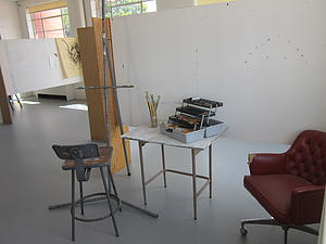 Art majors use personal studios like this one.