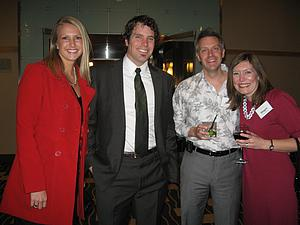 Ana (Meyer) '05 and Pete Eliason '03 and Scott '95 and Megan Hamman