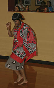 "Njabulo prances in traditional Swazi attire.<a href=""/reason/images/363397_orig.jpg"" title=""High res"">∝</a>"