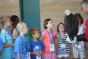 "The Lutherlag Children meet an American Bald Eagle face-to-face.<a href=""/reason/images/365761_orig.jpg"" title=""High res"">∝</a>"