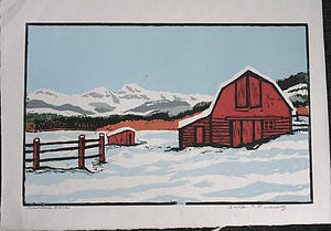 "Mountain Barn by Orville Running<a href=""/reason/images/388416_orig.jpg"" title=""High res"">∝</a>"