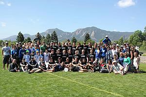 Luther College Ultimate team tied for fifth place at the 2012 USA Ultimate National Tournament.