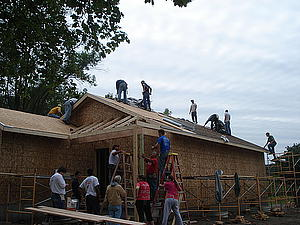 Habitat for Humanity house in Decorah