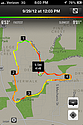 Map of my Saturday Run