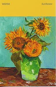 "Todd Johnson's work ""Sunflowers"""