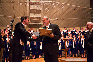 Weston Noble Choral Award winner Bruce Tammen