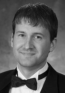 Brad Schultz, visiting instructor of organ and sacred music
