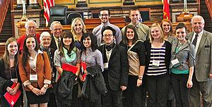 "Luther College visit to Statehouse in February 2013<a href=""/reason/images/453168_orig.jpg"" title=""High res"">∝</a>"