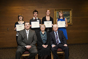 Steven Mark Anderson Scholarship winners 2013