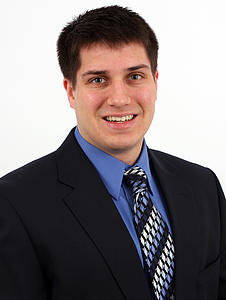 Alexander Greiner, Luther College junior and Goldwater Scholarship winner 2013
