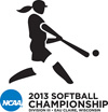 2013 NCAA III National Tournament Softball Logo