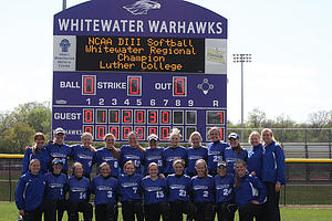 Luther softball earns regional championship