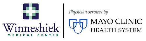 Winneshiek Medical Center/Mayo Clinic color logo