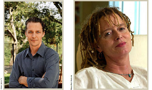 Mark Salzman and Anne Lamott
