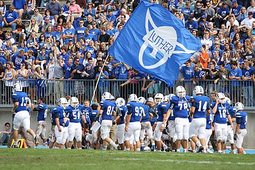 loras college football luther college