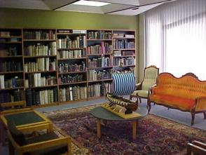 The Special Collections room houses rare, foreign, and antiquated books.