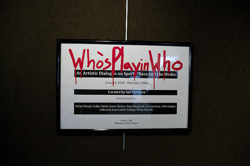 """Who's Playin' Who"" Title Poster"