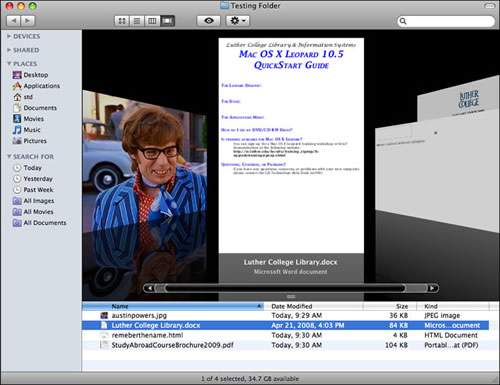 Mac OS X Snow Leopard - 10