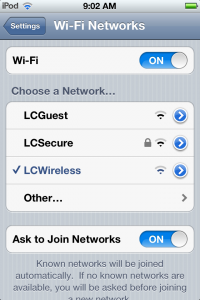 Connect To LCSecure 8