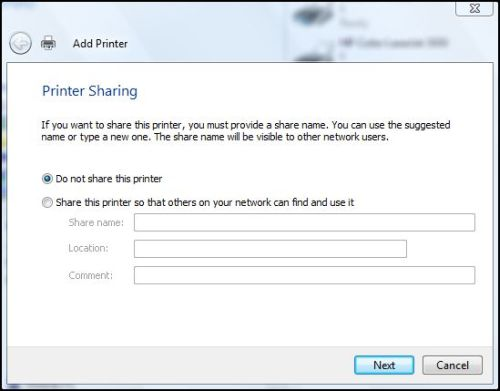 Windows Network Print Training - Printer Sharing