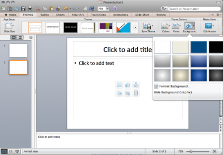 PowerPoint 2011 for the Mac Training | Technology Help Desk